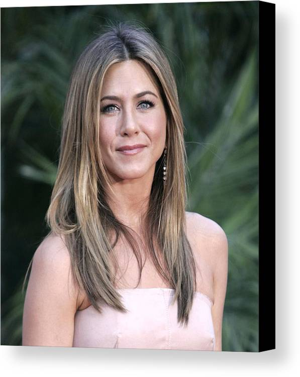 Jennifer Aniston Canvas Print featuring the photograph Jennifer Aniston At Arrivals For The by Everett