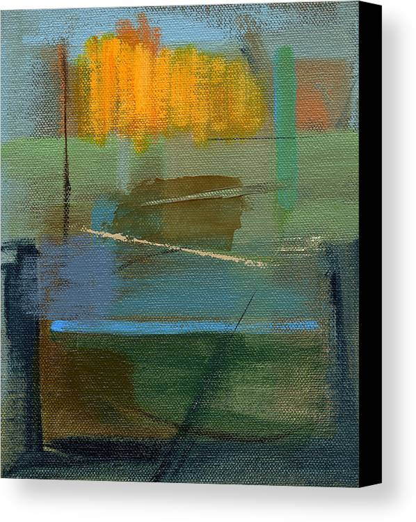 Abstract Canvas Print featuring the painting Rcnpaintings.com by Chris N Rohrbach