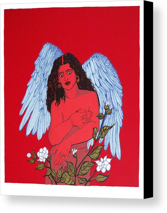 Mirta Toledo Canvas Print featuring the print Renacimiento by Mirta Toledo