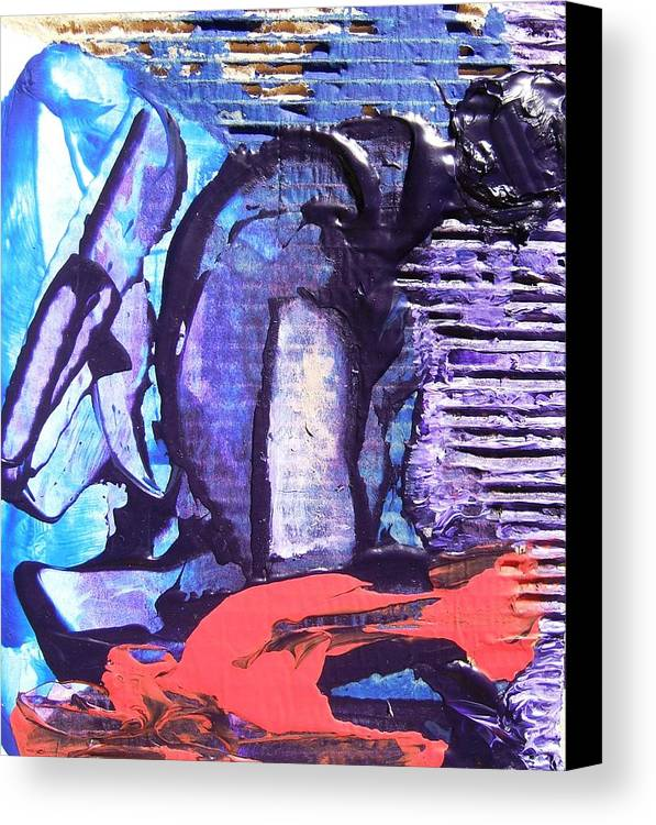 Realistic Canvas Print featuring the painting The Worker by Bruce Combs - REACH BEYOND