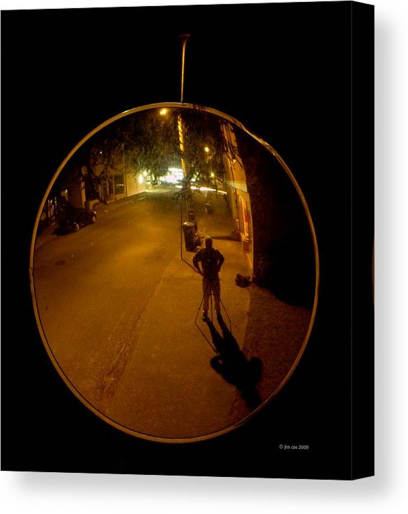 Print Canvas Print featuring the photograph Midnight Mirror by Jim Coe