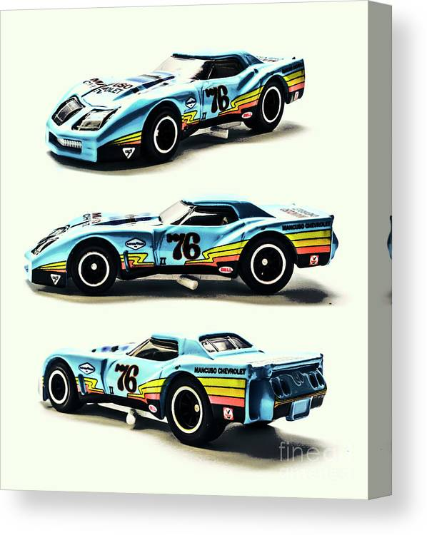 Corvette Canvas Print featuring the photograph 76 by Jorgo Photography - Wall Art Gallery