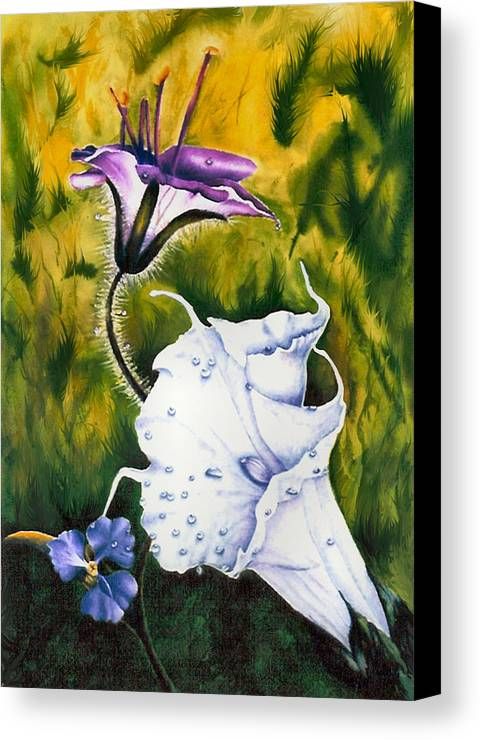 Lily Canvas Print featuring the print Cindy's Lily by JoLyn Holladay