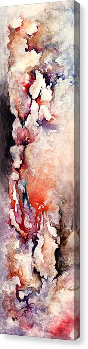 Abstract Canvas Print featuring the painting Places in the Heart by William Russell Nowicki