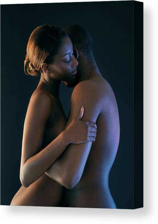 Human Canvas Print featuring the photograph Making Love by Kate Jacobs/science Photo Library