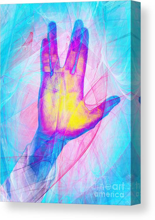 Wingsdomain Canvas Print featuring the photograph Live Long And Prosper 20150302v1 by Wingsdomain Art and Photography