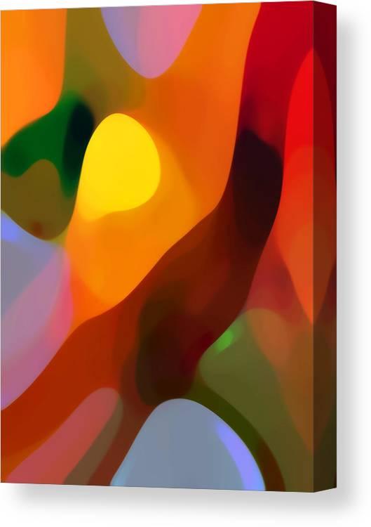 Paradise Found 2 Tall Canvas Print Canvas Art By Amy Vangsgard