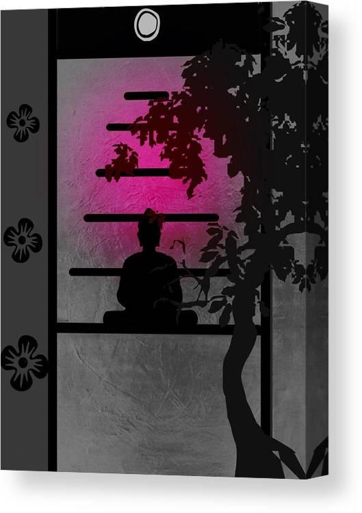 Spiritual Canvas Print featuring the digital art Heaven by Joseph Ferguson