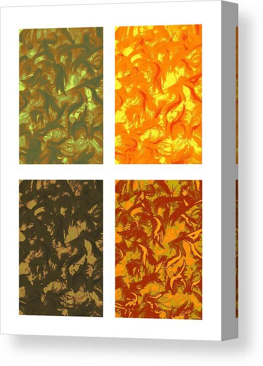 Seasons Canvas Print featuring the photograph Seasons Series by Katherine Morgan