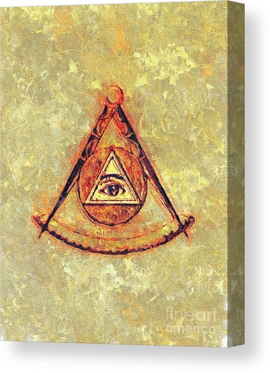 The Structure of Freemasonry Fine Art Print//Poster