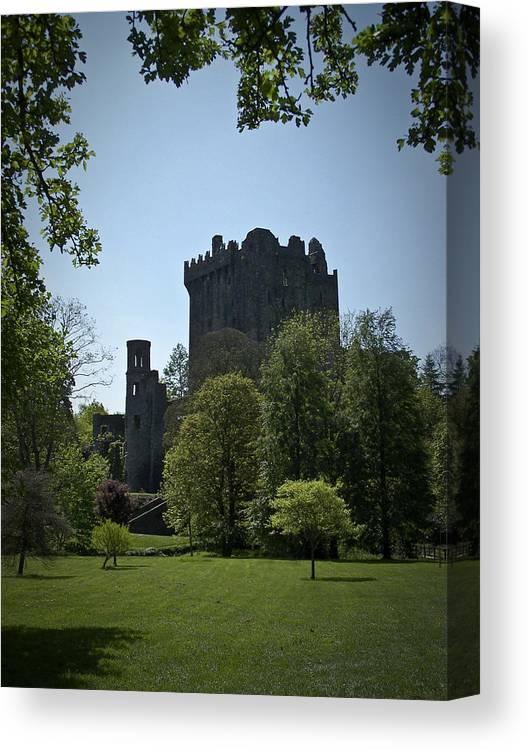 Irish Canvas Print featuring the photograph Blarney Castle Ireland by Teresa Mucha