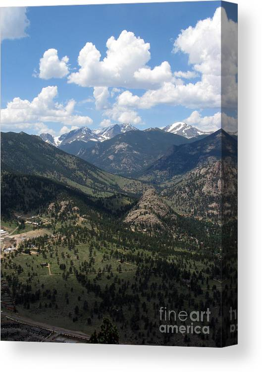 Colorado Canvas Print featuring the photograph Colorado by Amanda Barcon