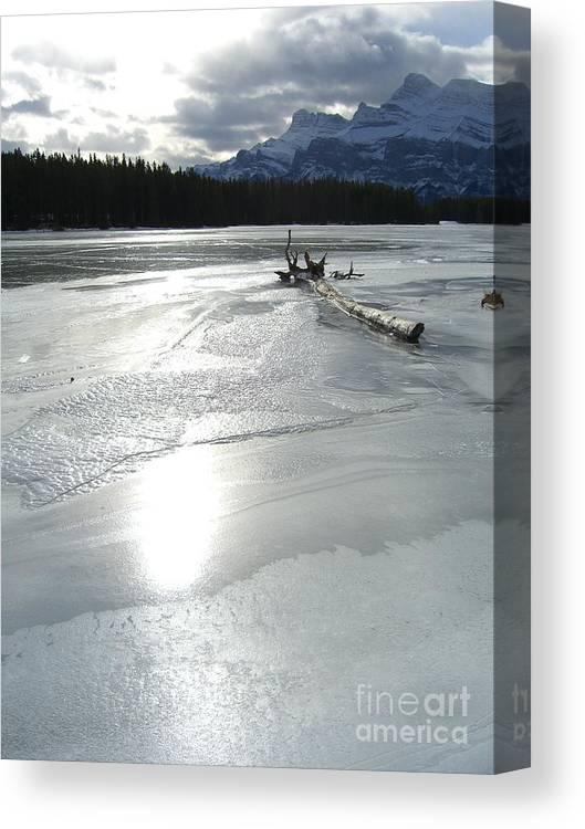 Lake Canvas Print featuring the photograph Lake Miniwanka by Jim Thomson