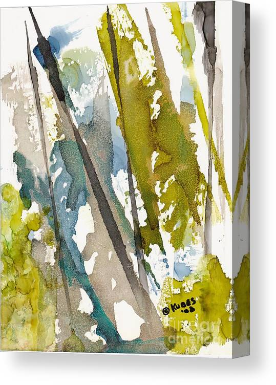 Forest Canvas Print featuring the painting Tall Timber by Susan Kubes