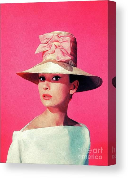 Audrey Hepburn, Vintage Movie Star by Esoterica Art Agency