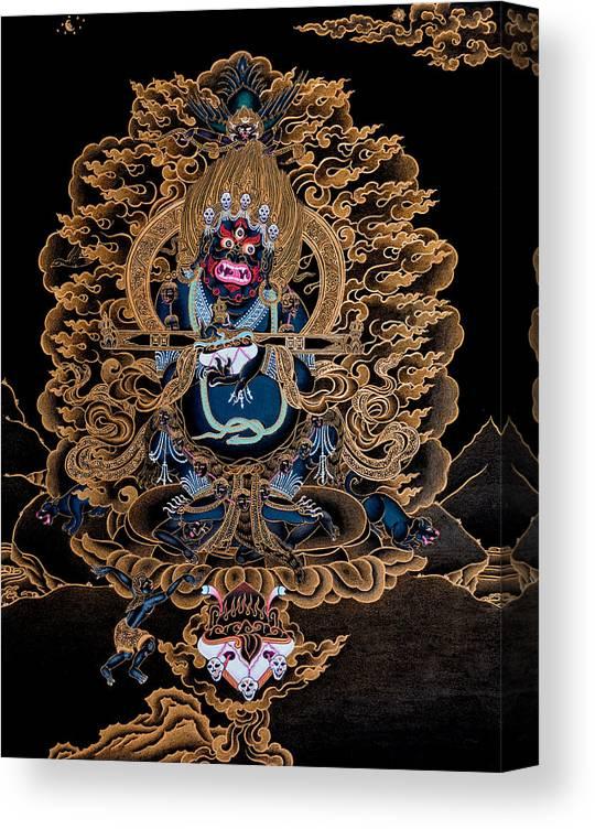 High Quality Giclee Canvas Print Digital Print Sakya Mahakala Thangka