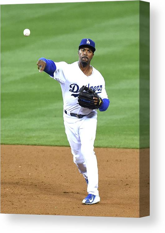 People Canvas Print featuring the photograph Jimmy Rollins by Harry How