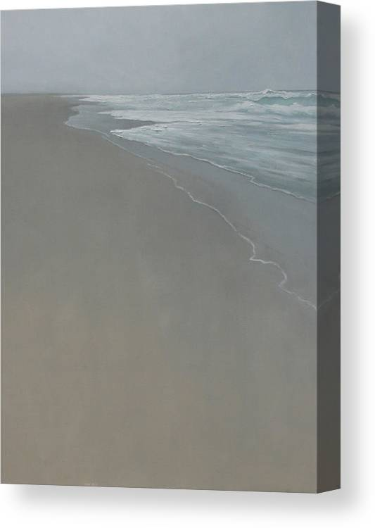 Canvas Print featuring the painting Drift by Mary Jo Van Dell