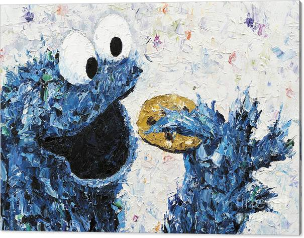 Cookie Monster inspired by Kay Schleusner