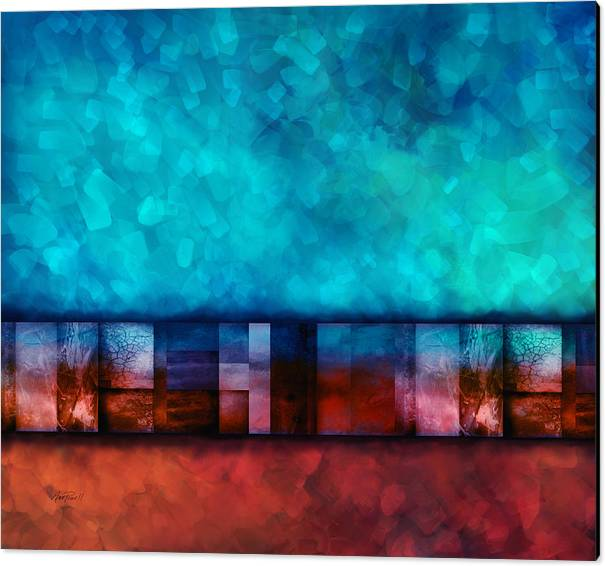 Abstract Study Seven by Ann Powell