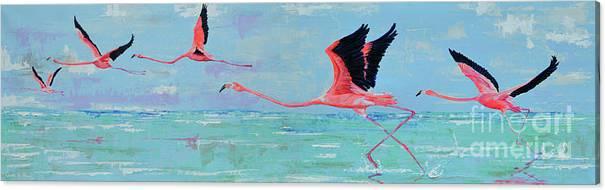 Flamingoes for Audrey by Paola Correa de Albury