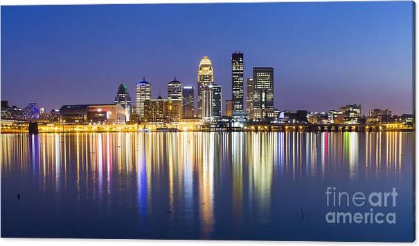 Louisville, Kentucky Skyline by Twenty Two North Photography