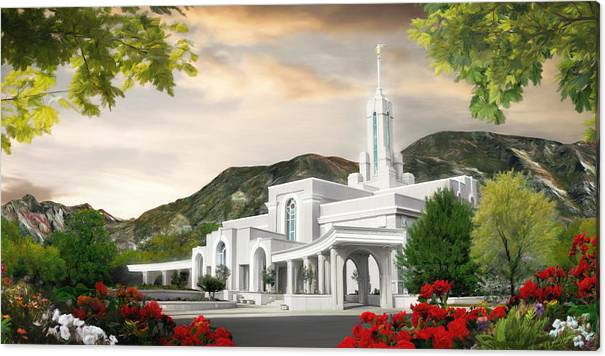 Mt. Timpanogos Temple #1 by Brent Borup