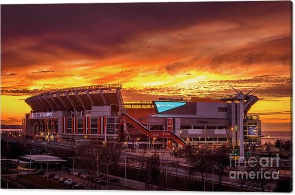 FirstEnergy Stadium Sunset by PJ Ziegler