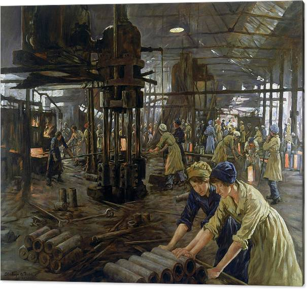 The Munitions Girls by Stanhope Forbes