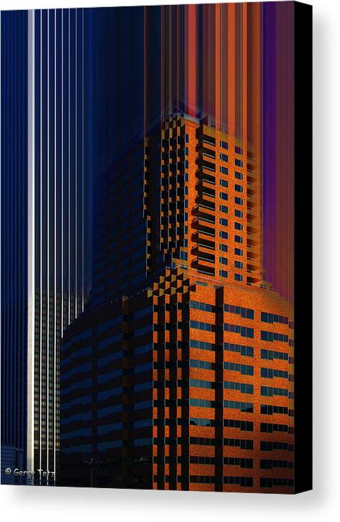 Portland Canvas Print featuring the photograph Untitled by Gerry Tetz