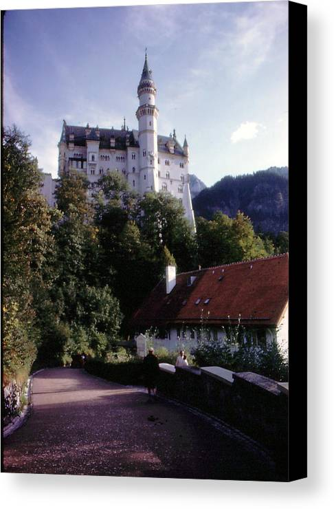 Germany Canvas Print featuring the photograph Bavarian Castle by Ron Swonger