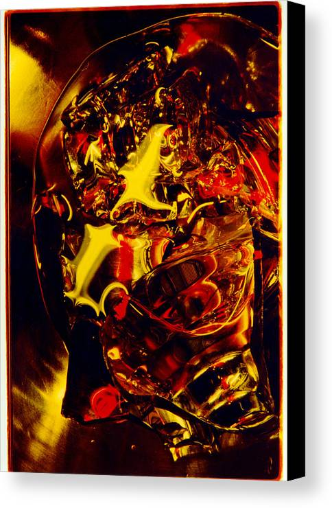 Abstract Canvas Print featuring the photograph Glassman by David Rivas