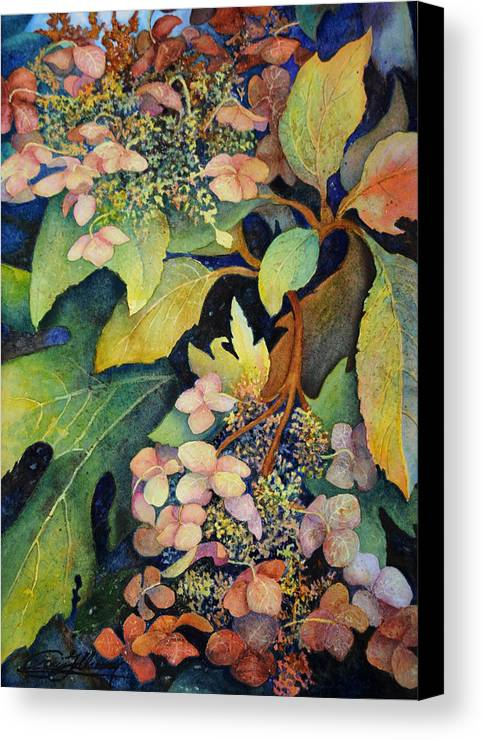 Botanical Canvas Print featuring the painting High Summer by Craig Gallaway