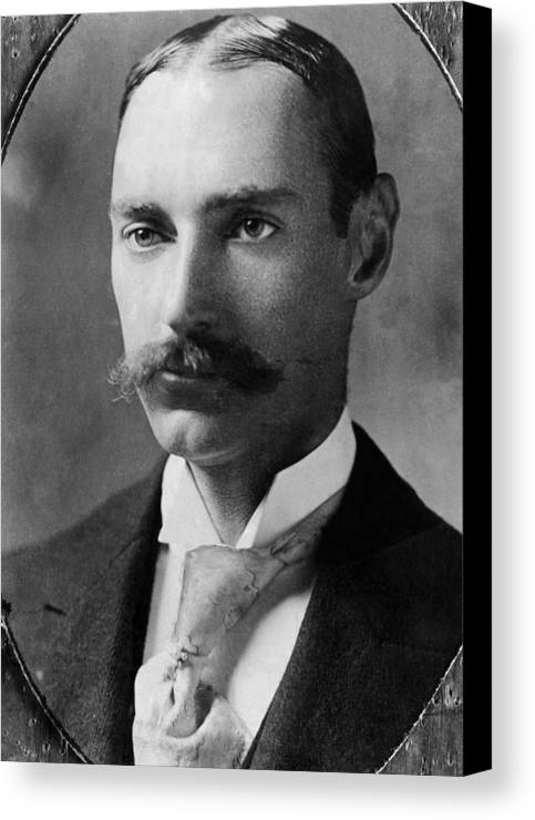 1910s Canvas Print featuring the photograph John Jacob Astor Iv 1864-1912 by Everett