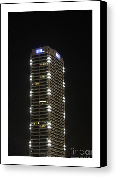 Skyscraper Canvas Print featuring the photograph Modern Skyscraper by Hussein Kefel