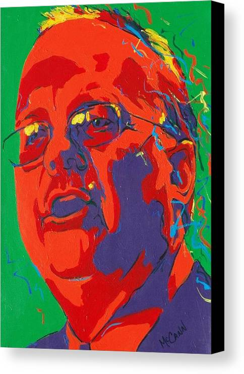 Politics Canvas Print featuring the painting Rove by Dennis McCann