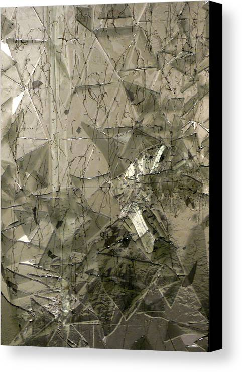 Glass Canvas Print featuring the sculpture the 'Casuarina Understory' by Sarah King