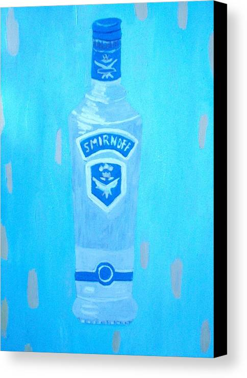 Pop Art Canvas Print featuring the painting Vodka by Patrice Tullai