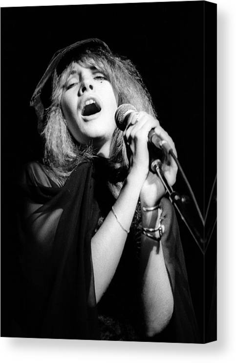Music Canvas Print featuring the photograph Fleetwood Mac Live by Ed Perlstein