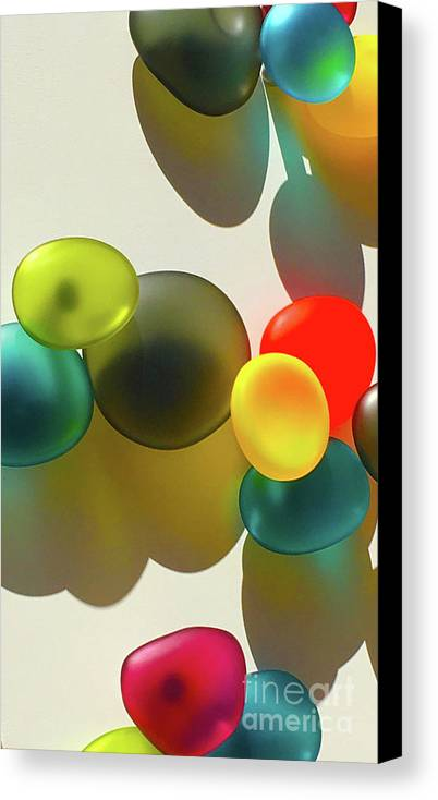 Glass Canvas Print featuring the photograph Life In Color by Kris Hiemstra