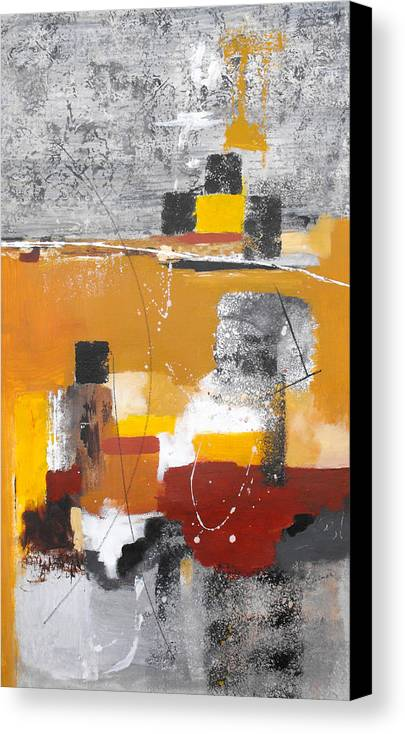 Abstract Canvas Print featuring the painting Special Circumstances II by Ruth Palmer