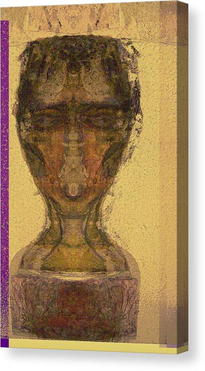Relgion Canvas Print featuring the mixed media Coptic 3 by Noredin Morgan