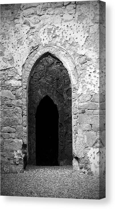 Ireland Canvas Print featuring the photograph Inner Sanctum Fuerty Church Roscommon Ireland by Teresa Mucha