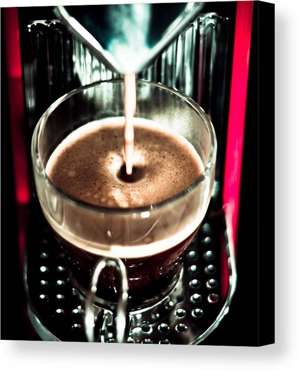 Espress yourself canvas print canvas art by justin albrecht coffee canvas print featuring the photograph espress yourself by justin albrecht solutioingenieria Gallery