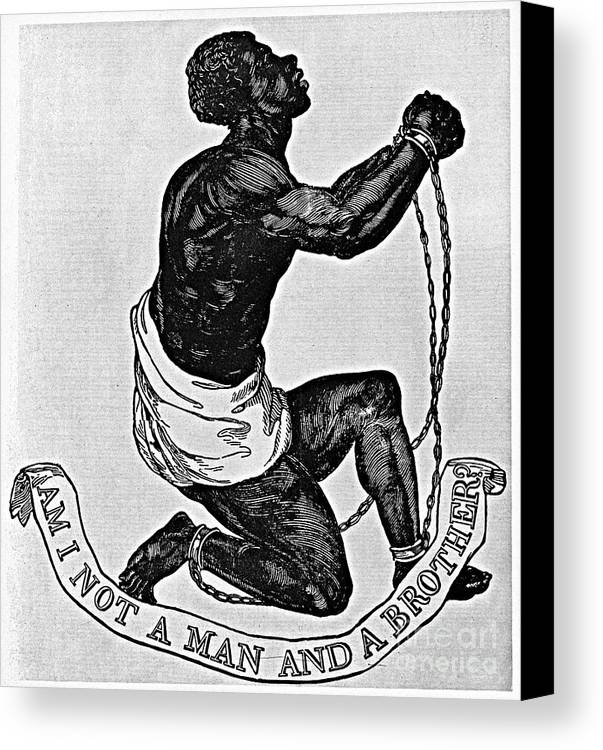 1835 Canvas Print featuring the photograph Slavery: Abolition, 1835 by Granger