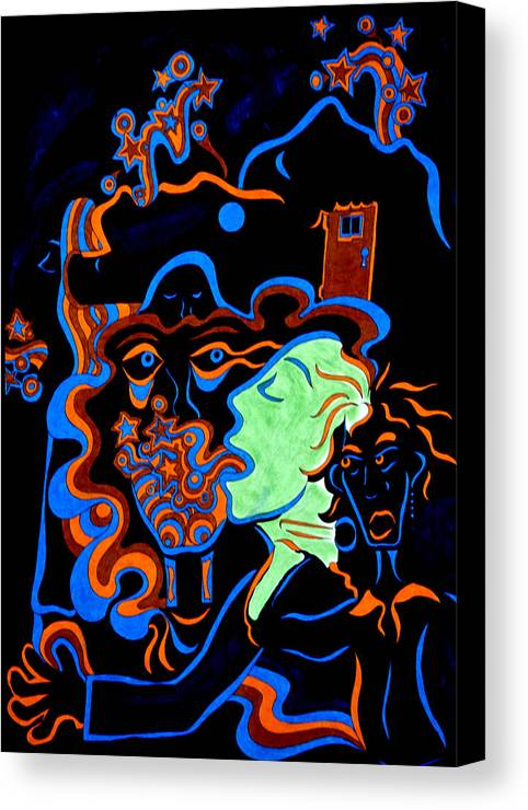Abstract Canvas Print featuring the print Rock Star by William Watson