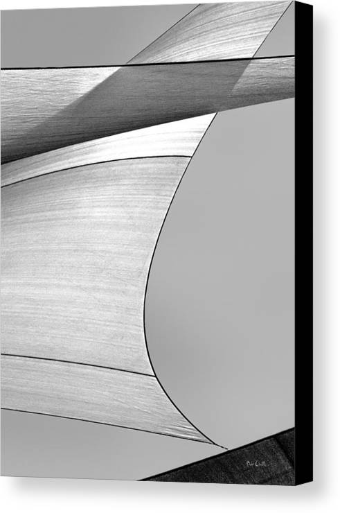 Abstract Canvas Print featuring the photograph Sailcloth Abstract Number 4 by Bob Orsillo