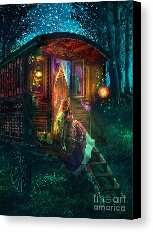 Gypsy Canvas Print featuring the photograph Gypsy Firefly by Aimee Stewart