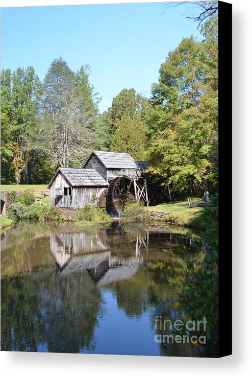 Mabry's Canvas Print featuring the photograph Scenic Reflections by Kathleen Struckle