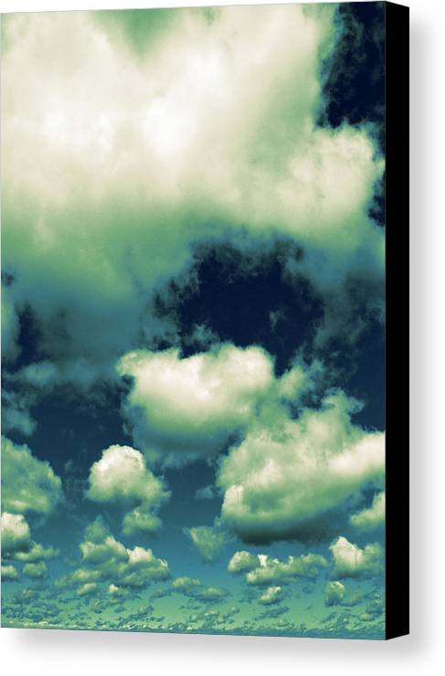 Blue Canvas Print featuring the photograph Sky by Michelle Calkins